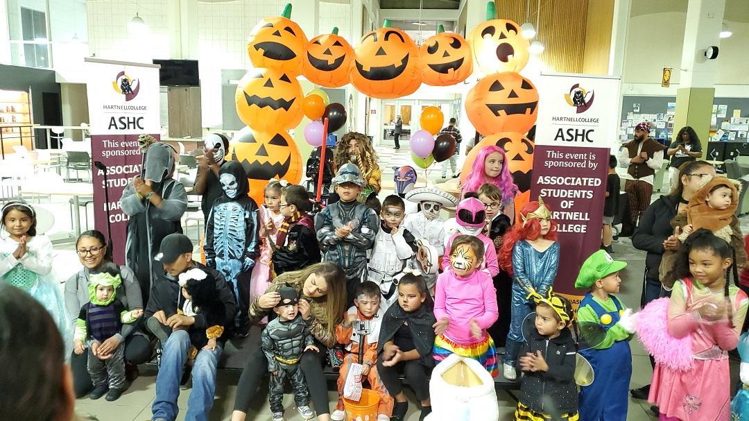 Our annual children's costume contest participants for Halloween 2019