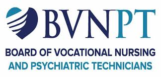 California Board of Vocational Nursing and Psychiatric Technicians Logo