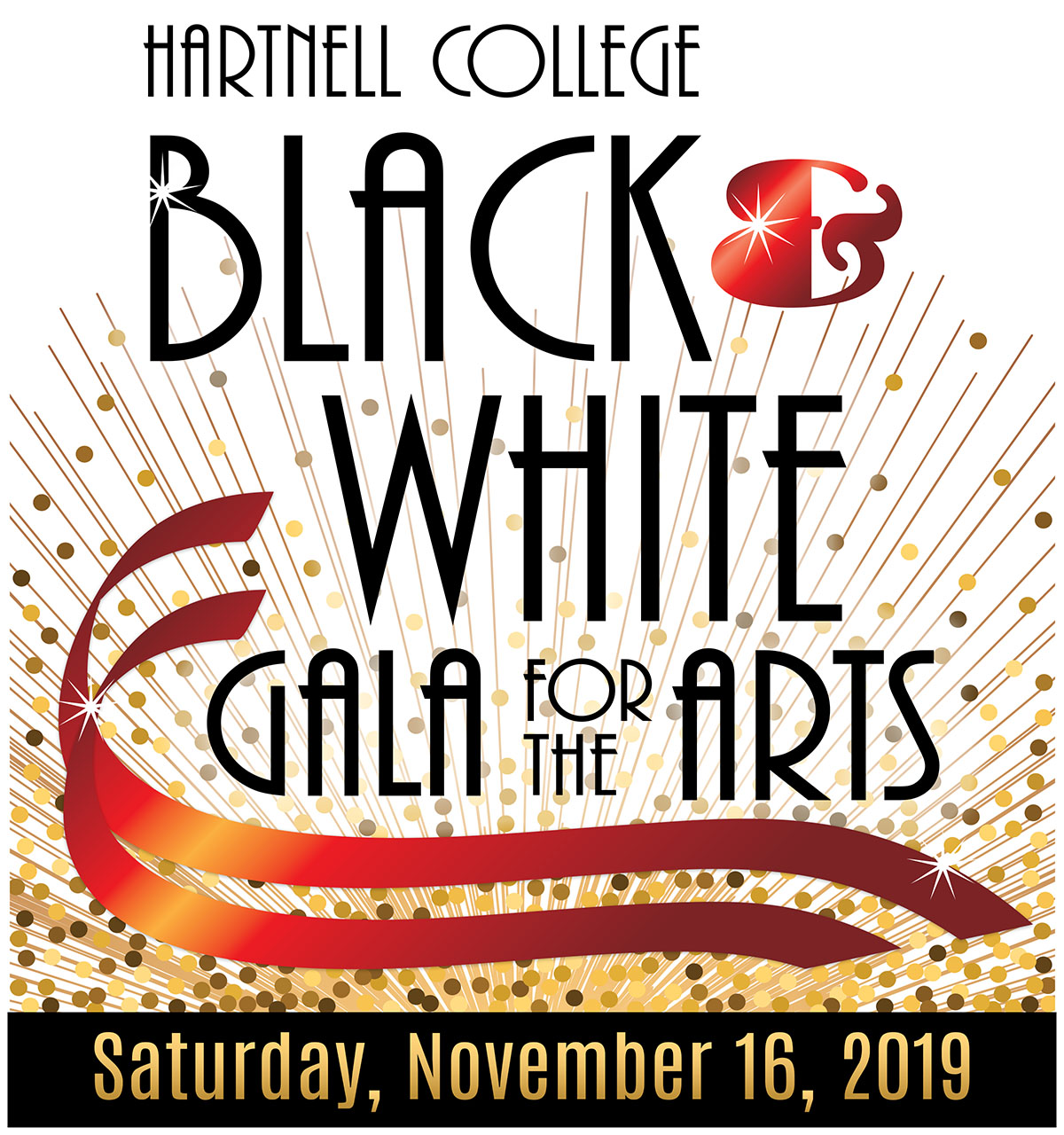 Black and White Gala for the Arts
