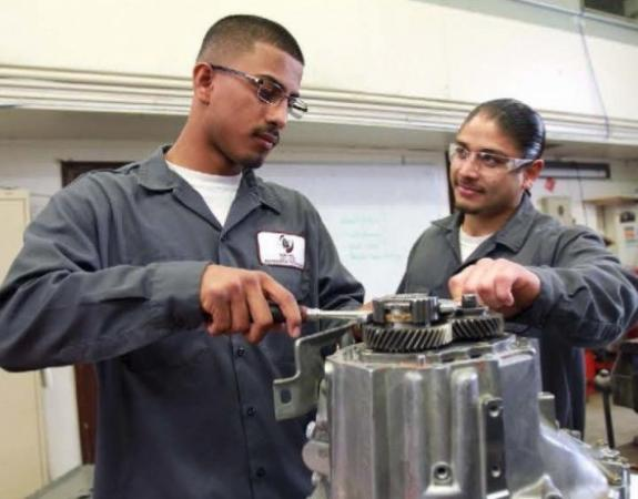 Students skilled in Transportation Technology