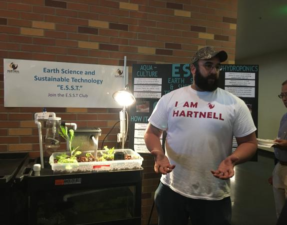 The Earth Science and Sustainable Technology Club Presenting