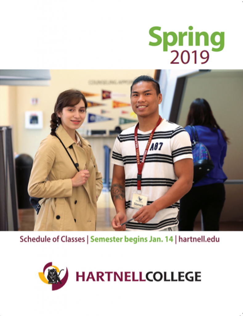 Hartnell College Spring 2019 Catalog