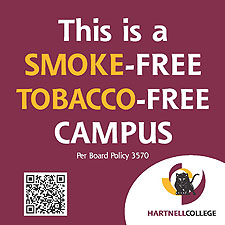 Smoke Free Campus with link to Press Release