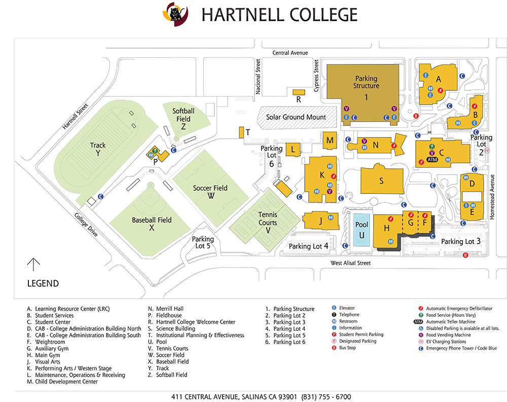 Hartnell College Main Campus