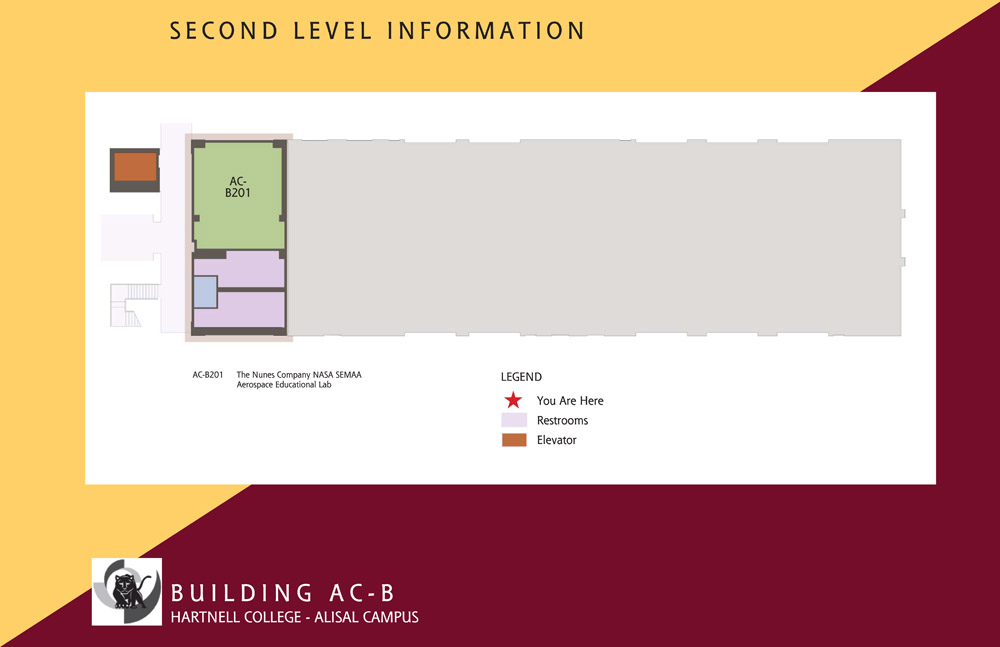 Campus Map of Hartnell College Alisal Campus Building B