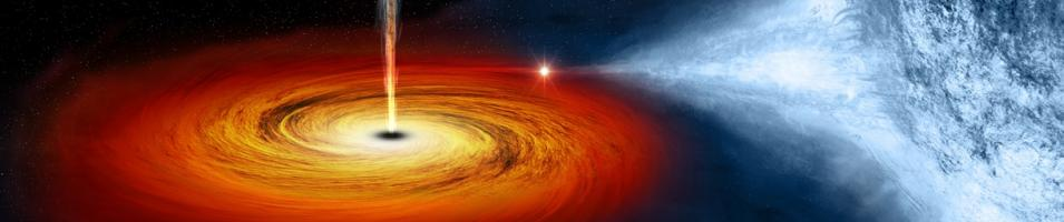 Image of Black Hole Cygnus X-1