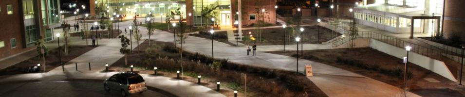 Night Time View Of Hartnell Campus