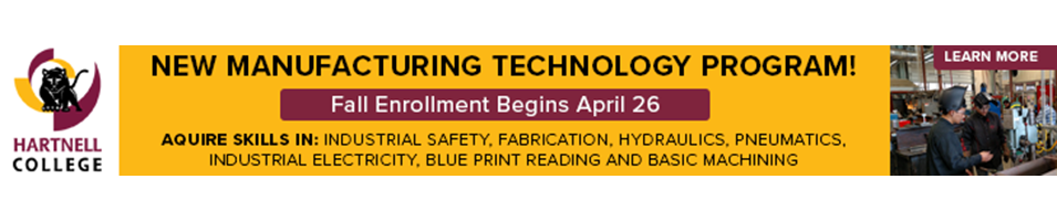 Manufacturing Program - Fall Enrollment April 26th, acquire new skills!