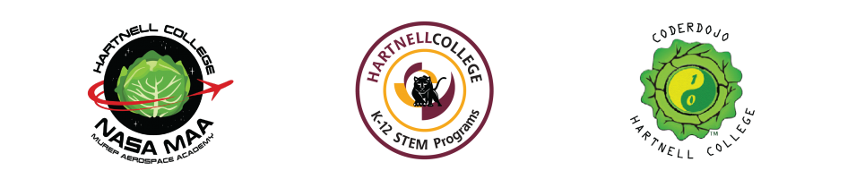Hartnell College K12 Programs includes NASA and Coder Dojo Hartnell College