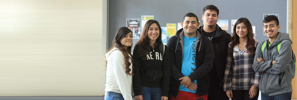 Six Hartnell College Students on Campus
