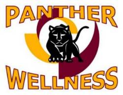 Logo for the Panther Wellness web site for the Office of student Life.